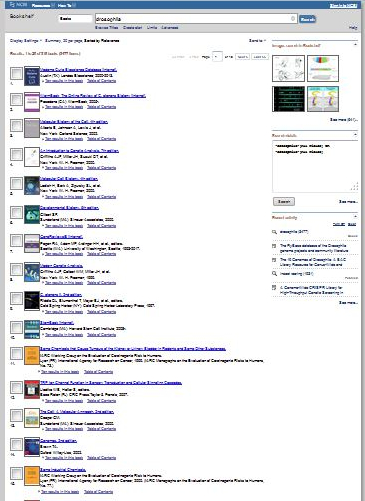 NIH NCBI Library Web Site